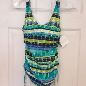 Tankini 6D cinched sided